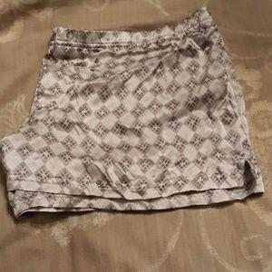 Victoria's secret silk short PJ bottoms